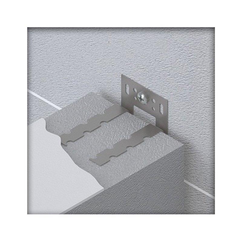 Wandanschlussanker beweglich Edelstahl 60 x 1,25 Wandanker Maueranker Mauerverbinder 100 St/ück