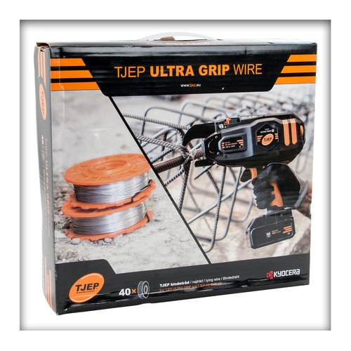 Bindedraht TJEP Draht ULTRA GRIP 25, 40, 58 u. RE-BAR XP 25, XP 40